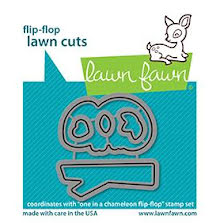 Lawn Fawn Dies - One In A Chameleon Flip-Flop