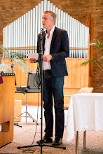 Photo: Ds. Maikel de Kreek 12,5 jaar predikant