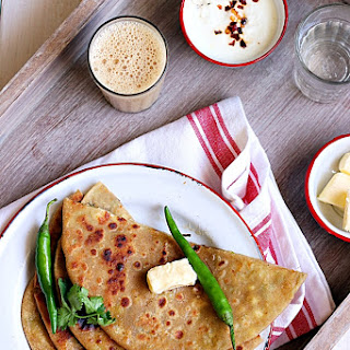 Aloo paneer paratha recipe | Easy paratha recipes