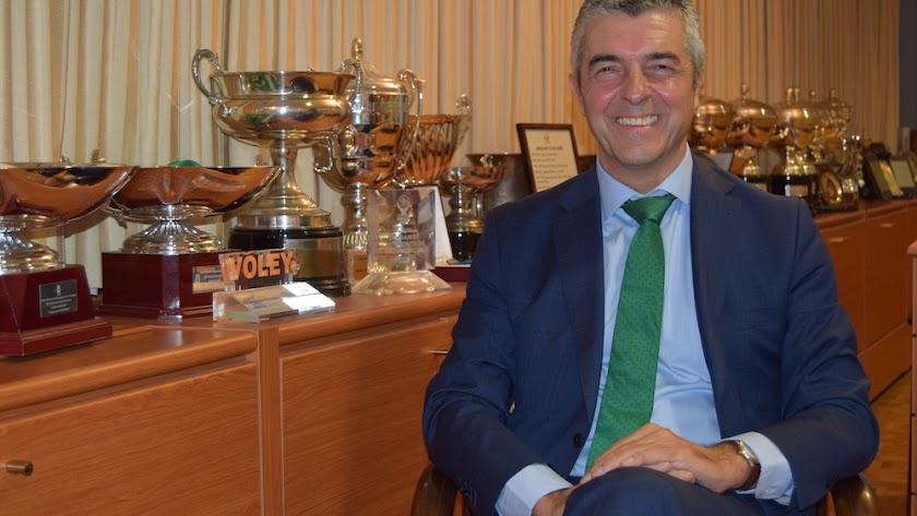 Antonio Rodríguez, nuevo presidente de Unicaja Almería.
