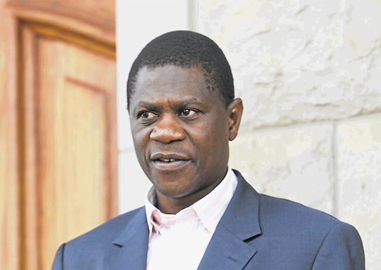 Paul Mashatile, ANC chairman in Gauteng. Picture: SUNDAY TIMES