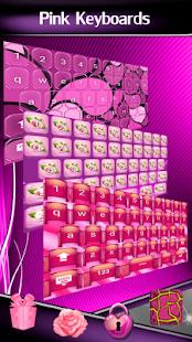 Pink Keyboards - náhled