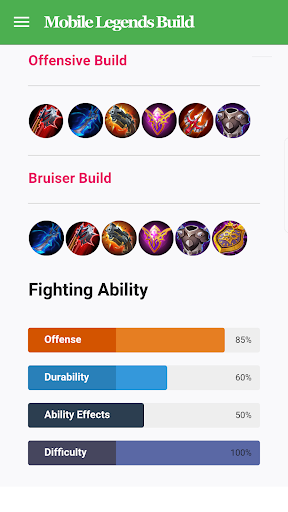 Mobile Legends Build & Guide 2.5.2 screenshots 3