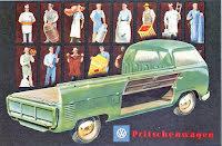 Transporter Pickup grön