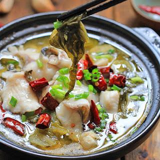 Szechuan Fish-Suan Cai Yu.