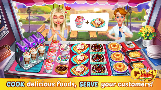 Crazy Chef: Fast Restaurant Cooking Games apkslow screenshots 11