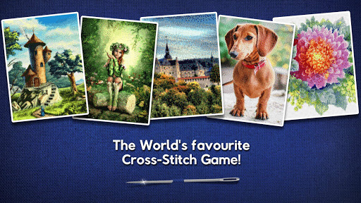 Cross-Stitch World screenshot