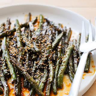 Szechuan-Style Green Beans.