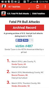 US Fatal Pit Bull Attacks- screenshot thumbnail