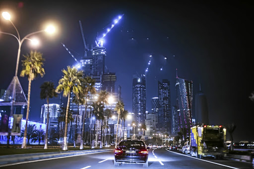Riyadh at night. Picture: GETTY IMAGES