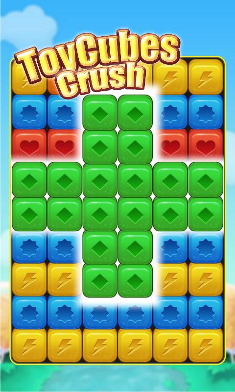 Скриншот Toy Cubes Crush