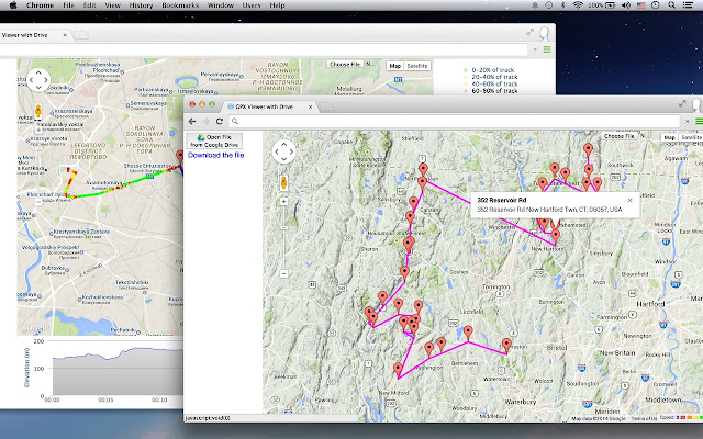 Maps To Gpx GPX Viewer, Reader
