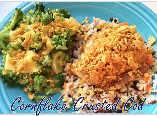Cornflake Crusted Cod Recipe