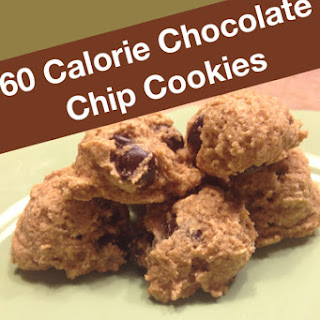 60 Calorie Chocolate Chip Cookies.