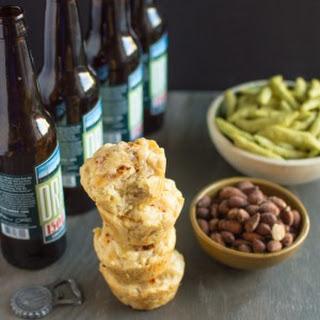 Pepper Jack Beer Bread Muffins