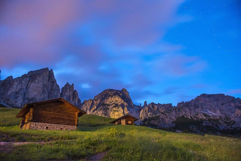 La montagna di notte di Peter_Sossi