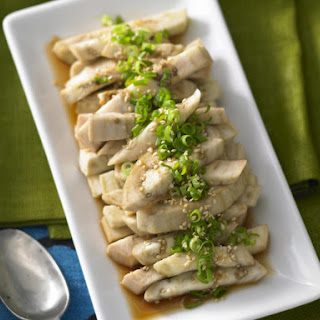Steamed Eggplant with Soy Dressing