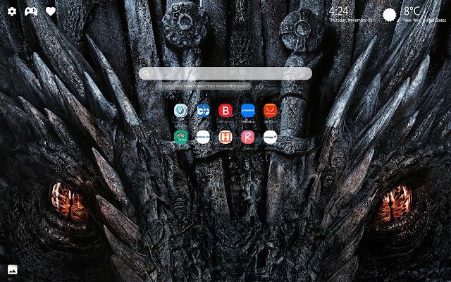 Dragons Wallpapers HD New Tab Theme