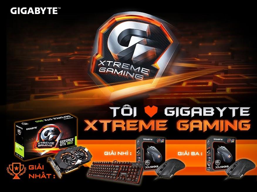 Tôi yêu GIGABYTE Xtreme Gaming