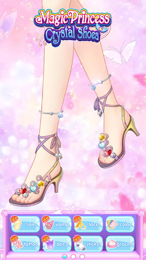 Magic Princess Crystal Shoes : school party - screenshot