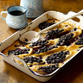 Oven-Baked Blueberry French Toast.