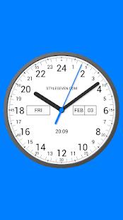 Analog Clock 24-7 - náhled