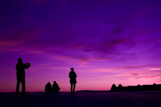 Photo: Pink & Purple Sunset from Norway People who are shooting on the top of the Oslo Opera House  I am still writing a school essay... I will update photos for 366 projects later :)  オペラハウスの頂上で写真タイム♪