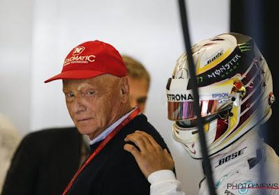 Le triple champion du monde Niki Lauda est hospitalisé