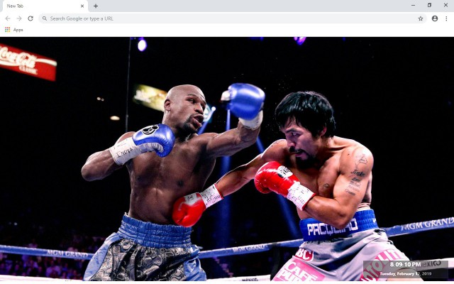 Boxing New Tab & Wallpapers Collection