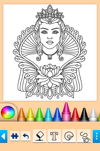 Mandala Coloring Pages 14.0.2 screenshots 3