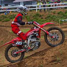 RED ROCKET by Jim Jones - Sports & Fitness Motorsports ( motorcycle, motorsport, motocross, motorcycles, mx )