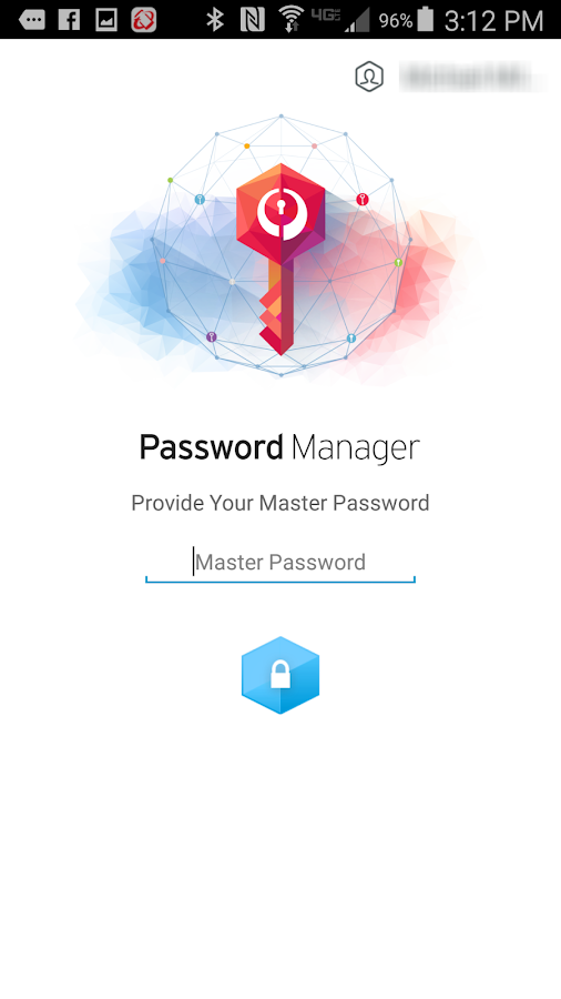 Trend Micro Password Manager- screenshot