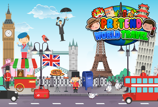 My Pretend World Travel - Kids Around the World for PC