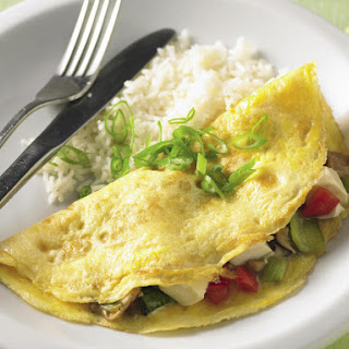 Omelettes With Tofu and Vegetables