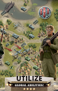 1944 Burning Bridges – a WW2 Strategy War Game Apk Download For Android and Iphone 4