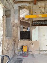 Photo: Ouverture accès PMR (mobilité réduite) pour espace grandes œuvres