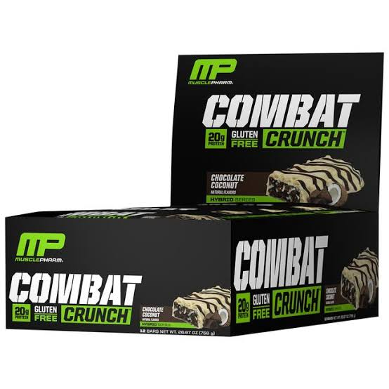 3. MusclePharm Combat Crunch Protein Bar