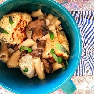 Chicken Marsala Meatballs (Gluten Free!)