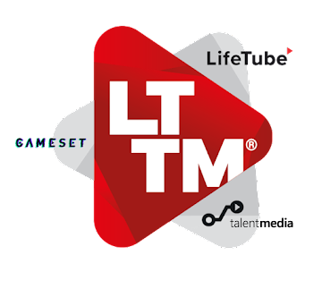 LTTM (LifeTube, TalentMedia, Gameset) logo