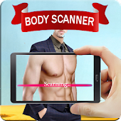 Real Body Scanner ct scan Xray Cloth Camera Prank