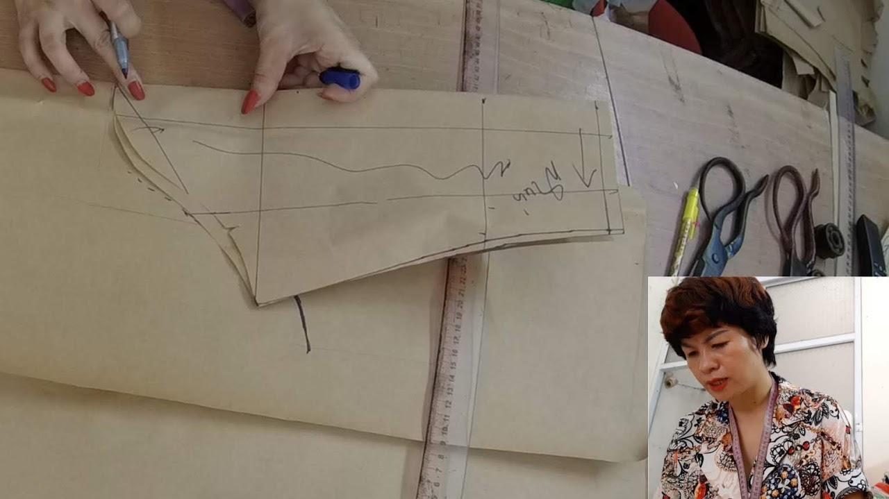 Cách thiết kế Tay áo Bồng xếp nhún nữ thời trang thuỷ hà nội
