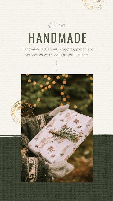 Home Holiday Gifts - Christmas template