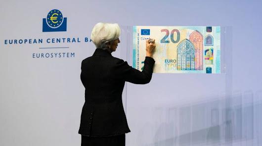 El BCE avisa que no está permitida la eliminación del efectivo en la eurozona