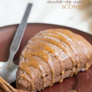 "Pumpkin Chocolate-Chip ""Cookie"" Scones"