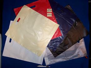 Photo: DKT Wklejka 45+4x40x0,045 Aktywowane Do Druku hdpe szelest mat Biala Krem Czerwona Granat Czarna i Mrozona bezbarw