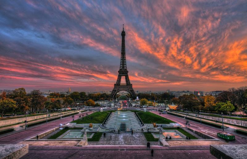 Photo: Sunset in Paris