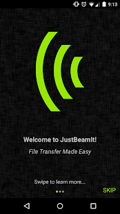 JustBeamIt- screenshot thumbnail