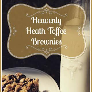 Heath Toffee Brownies.