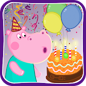 Kids birthday party Icon