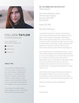 Colleen Taylor - Cover Letter item